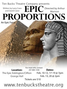 Epic Proportions Poster